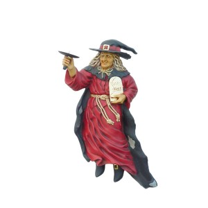 WALL WITCH CANDLE HOLDER (RIGHT) 1