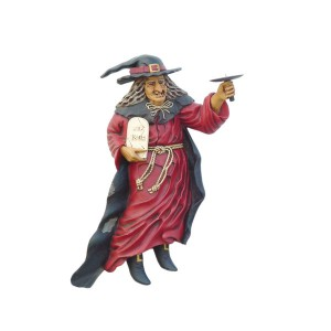WALL WITCH CANDLE HOLDER (LEFT) 1