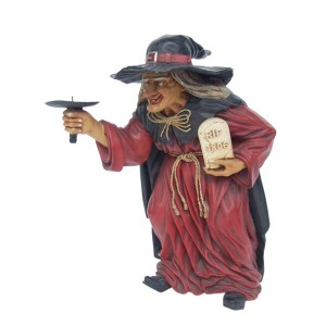 WITCH STANDING CANDLE HOLDER 1