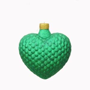 CHRISTMAS DÉCOR HEART GREEN 1