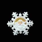 SANTA SNOWFLAKES 1