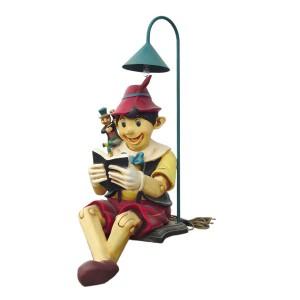 BOY SITTING W/ LAMP 1