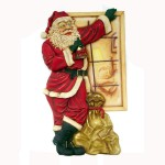 SANTA  STANDING BY WINDOW 1