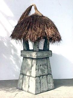 MALAYSIAN LAMP POST WHITE 1