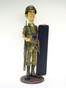 SOLDIER WITH MENU 1