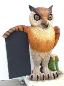 OWL WITH MENU 1