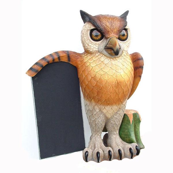 OWL WITH MENU 1