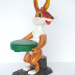 RABBIT STOOL 1