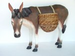 DONKEY WITH BASKETS 1