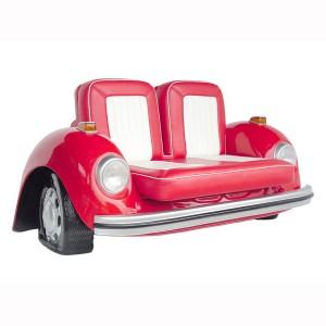 V-CAR SOFA(Red) 1