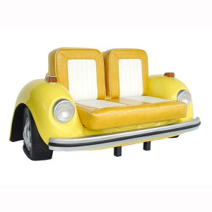 V-CAR SOFA(Yellow) 1