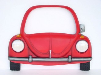 V-CAR MIRROR (Red) 1