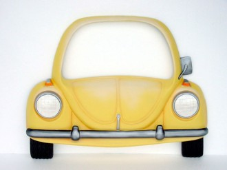 V-CAR MIRROR (Yellow) 1