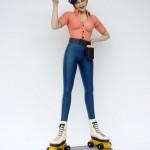 LADY ROLLER SKATER BUTLER 1