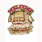SANTA WELCOME SIGN 1