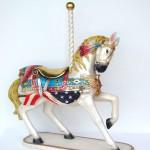 CAROUSEL HORSE ALL AMERICAN 1