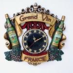 GRAND VIN CLOCK 1