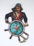 PIRATE CLOCK 1
