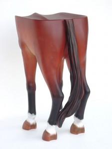 HORSE ASS STOOL 1