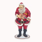 SANTA CLAUS WITH GUITAR 1