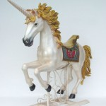 UNICORN WITH METAL BASE 1