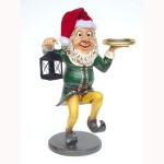 ELF WAITER WITH LAMP 1