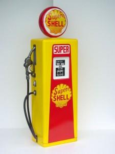 GAS PUMP CABINET (Yellow) 1