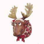 FUNNY CHRISTMAS MOOSE HEAD 1