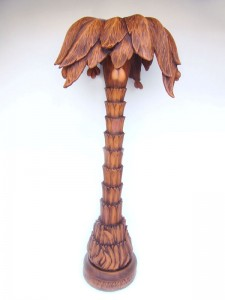 PALM TREE WHOLE (Wood Finish) 1