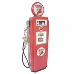 GAS PUMP CABINET (Red) - Small 1