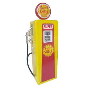 GAS PUMP CABINET (Yellow) - Small 1