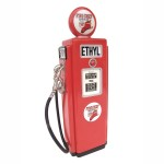 GAS PUMP CABINET (Red) - Mini 1