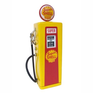 GAS PUMP CABINET (Yellow) - Mini 1