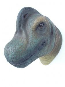 BRACHIOSAURUS HEAD 1