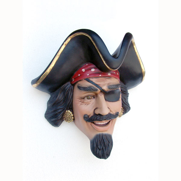 PIRATE HEAD WALL DÉCOR 1