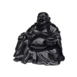 BUDDHA SITTING (BLACK) 1