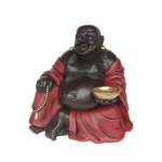 BUDDHA SITTING (RED & BLACK) 1