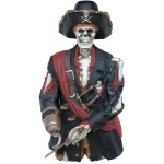 FIGURE HEAD &#8211, SKELETON PIRATE 1