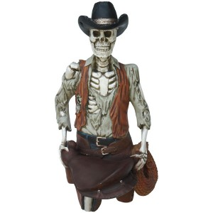 FIGURE HEAD &#8211, SKELETON COWBOY 1