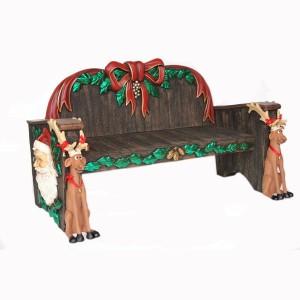 CHRISTMAS BENCH 1