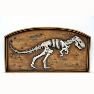 T-REX FOSSIL IN FRAME 1