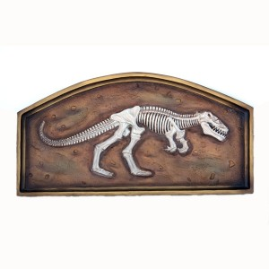 T-REX FOSSIL IN FRAME (3FT) 1