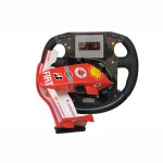 FRR F1 NOSE CONE AND STEERING WHEEL WITH CLOCK AND NEON LIGHT 1