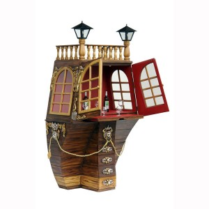 GALLEON BAR CABINET 1