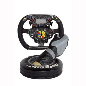 RNT STEERING WHEEL WITH HAND AND TIRE 1