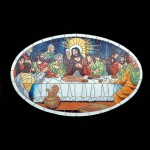 LAST SUPPER MOSAIC DÉCOR 1
