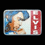 ROCK & ROLL SINGER MOSAIC DÉCOR 1