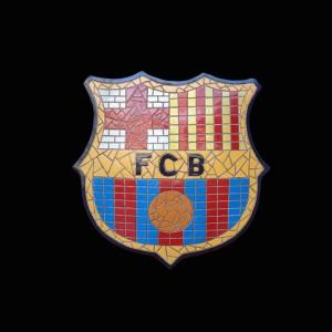FCB MOSAIC FOOTBALL SIGN 1