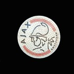 AJ MOSAIC FOOTBALL SIGN 1