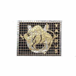 ZODIAC SIGN MOSAIC DÉCOR (TAURUS) 1